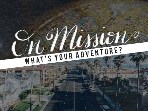 On Mission - Missional People are SENT Image