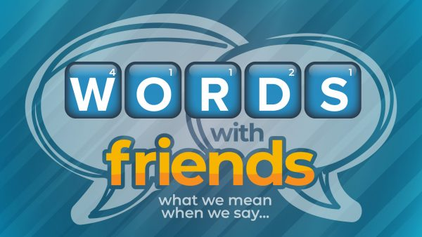 Words With Friends - Faith Image